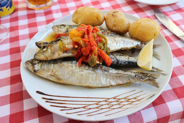 Omega-3 in sardines helps to reduce anxiety