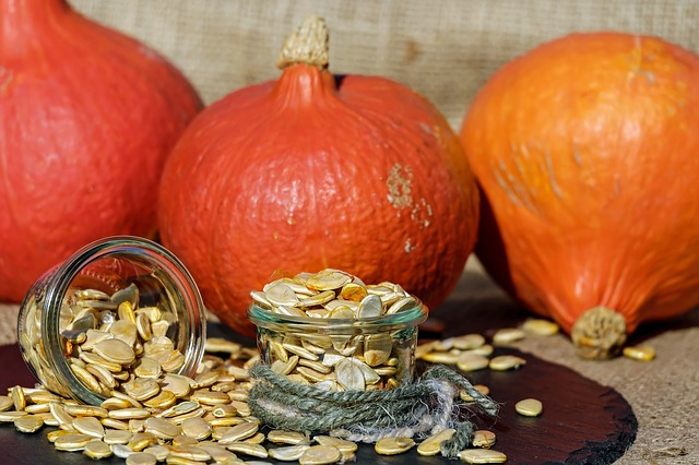 Pumpkin seeds contain a dizzying 184 mg of magnesium in just a quarter of a cup