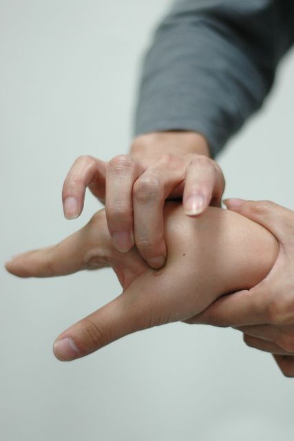 Acupuncture anxiety treatment stimulates a so-called point LI-4, also called Hegu, the point on the back of the hand between the thumb and forefinger.